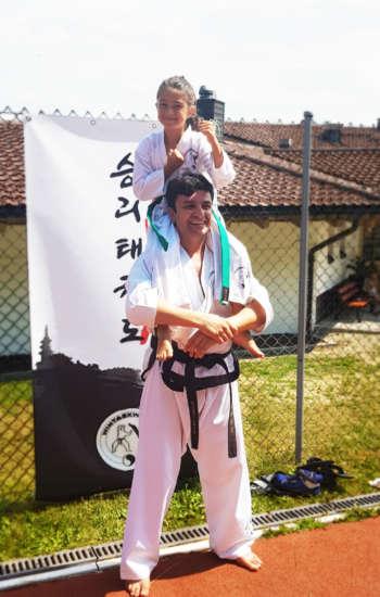 Kinder und Jugendliche werden beim WinTaekwondo individuell ausgebildet