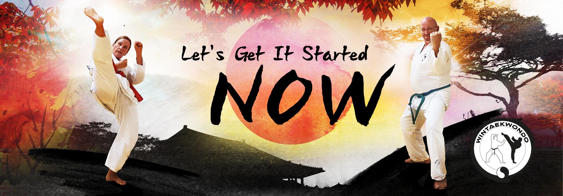 Let´s Get It startet NOW